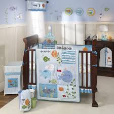 Boy Nursery Bedding Set by Ocean Theme Nursery Ideas Under The Sea Baby Crib Bedding Set By