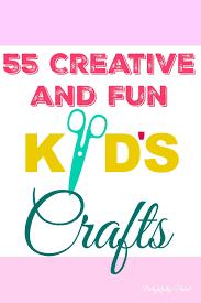 55 kid u0027s craft ideas national children u0027s crafts day