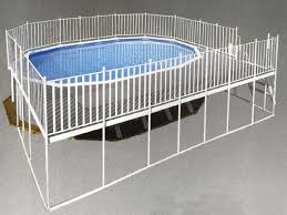 above ground pool with deck and fence above ground pool privacy