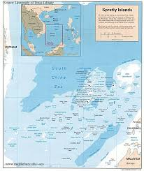 World Map Vietnam by Territorial Claims U2013 Maps The South China Sea