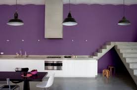 cuisine mur aubergine cuisine mur aubergine trendy cuisine moderne avec mur peint en avec