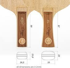 table tennis dimensions inches premium handmade table tennis blades table tennis bat