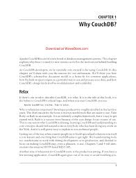 couchdb design document editor couch db the definitive guide