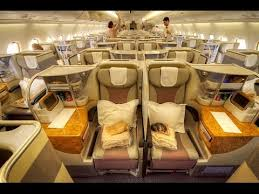 Emirates Airbus A380 Interior Business Class Luxury In The Sky Emirates A380 Zrh Dxb Business Class Youtube