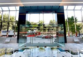 Entry Vestibule by I Street Glass Vestibule
