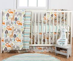 Crib Bedding Jungle Poppi Living Safari 3 Crib Bedding Set Reviews Wayfair