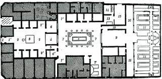 roman insula floor plan of a roman house