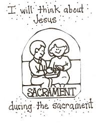 coloring pages for nursery lds lds nursery color pages 40 the sacrament helps me think about