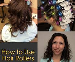 how to use hair rollers 4 steps with pictures