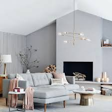 Chandeliers For Living Room Mobile Chandelier Large West Elm