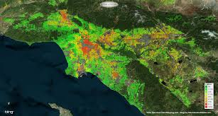 Los Angeles Crime Map by Los Angeles Heat Map Indiana Map