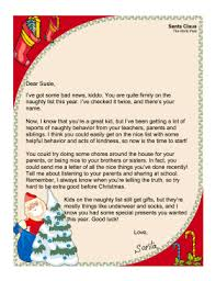 letters from santa letters from santa