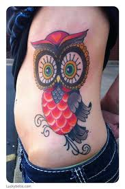 ryan and brooke cook tattoos tattoos cartoon cutesy owl