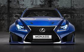 lexus rcf wallpaper lexus rcf widebody monaco auto design by monacoautodesign on