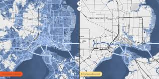 the sea map map shows where sea level rise will drown cities wired