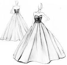 design dresses fashion design sketches of dresses black and white