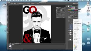 photoshop tutorial magazine cover for indesign youtube