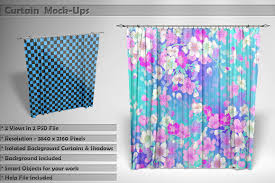 Alexander Curtains Curtain Mockup Photos Graphics Fonts Themes Templates