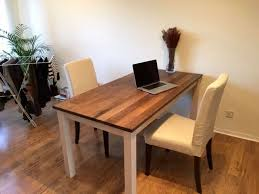 Oak Chairs Ikea Solid Oak Dining Table And Chairs For 200 On Gumtree We Are A