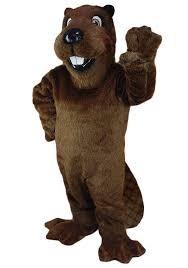Mascot Costumes Halloween Mascot Costumes Buy Barney Beavers Costume University Mascot