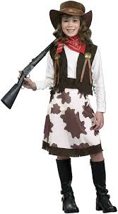 Halloween Costumes Girls Amazon Amazon Cowgirl Child Costume Medium Toys U0026 Games