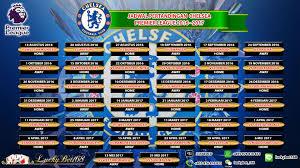 Jadwal Liga Inggris Jadwal Pertandingan Chelsea Liga Premier Inggris 2016 2017