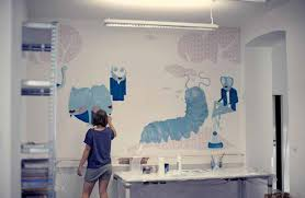 alice in wonderland mural for btw by nadine werjant nadine alice in wonderland mural for btw by nadine werjant nadine hire talented independent artists on demand