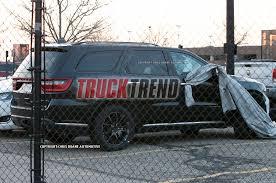 jeep durango 2018 2018 dodge durango hellcat spied