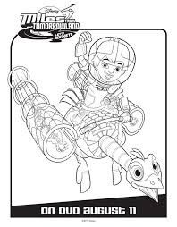 miles tomorrowland activity u0026 coloring pages