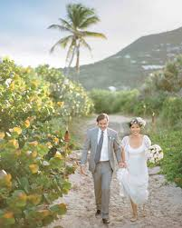 destination weddings st a casual beachfront destination wedding in st barts martha
