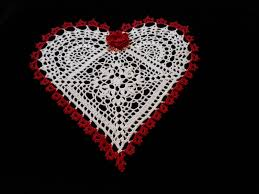 heart shaped doilies by hooks 4u heart shaped doilies and a rant