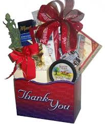 thank you baskets thank you christmas gift basket