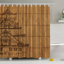 ambesonne japanese reed print shower curtain u0026 reviews wayfair