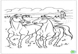 rain the horse coloring page image clipart images grig3 org
