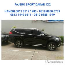 pajero sport dakar 2wd automatic transmission sunroof dealer