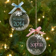 personalized baby christmas ornament your baby s firsts are always special but nothing compares to