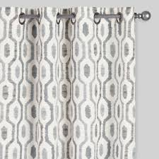White Patterned Curtains Patterned Curtains Free Home Decor Oklahomavstcu Us