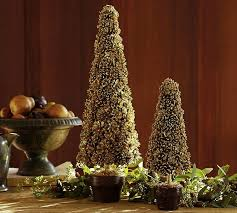 Pottery Barn Tree Pottery Barn Inspired Gold Pinecone Topiaries Tatertots And Jello
