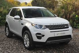 land rover discovery 2016 white used land rover discovery sport white for sale motors co uk