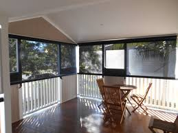 External Awnings Brisbane Crank Operated Straight Drop Outdoor Blinds Brisbane Rainbow Blinds