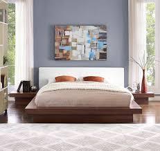 three piece bedroom set rennan queen platform 3 piece bedroom set reviews allmodern