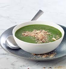 colruyt recettes de cuisine soupe de mâche et crumble aux lardons colruyt