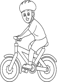 bicycle safety coloring pages virtren com