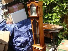 Ridgeway Grandmother Clock Granddaughter Longcase 31day Strike Clock With Show Chain U0026 Weight