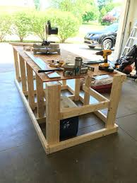 Build Woodworking Workbench Plans by I Built A Mobile Workbench Mobile Workbench Woodworking And