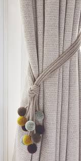 Curtain Holdbacks Home Depot by Best 25 Grey Curtain Tiebacks Ideas On Pinterest Grey Curtain