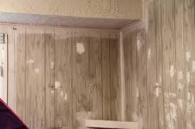 painting fake wood rental improvement painting faux wood paneling