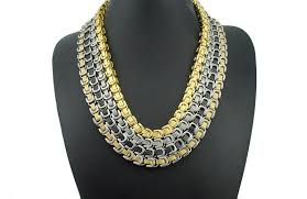 gold chain necklace wholesale images 8mm gold chain huge heavy long byzantine 316l stainless steel jpg