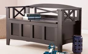 Tjusig Bench With Shoe Storage Bench 5 Cool Hidden Storage Shoe Benches Pertaining To Incredible