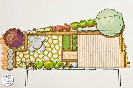 images about landscape plans on pinterest design and courtyards